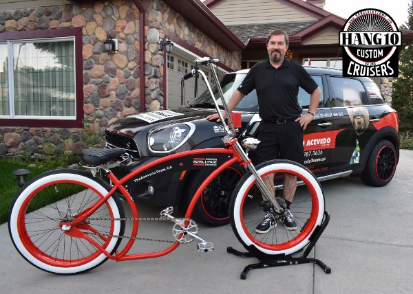 Ruff Cycles The Dean Special designed by Hang 10 Custom Cruisers Canada for John Acevedo