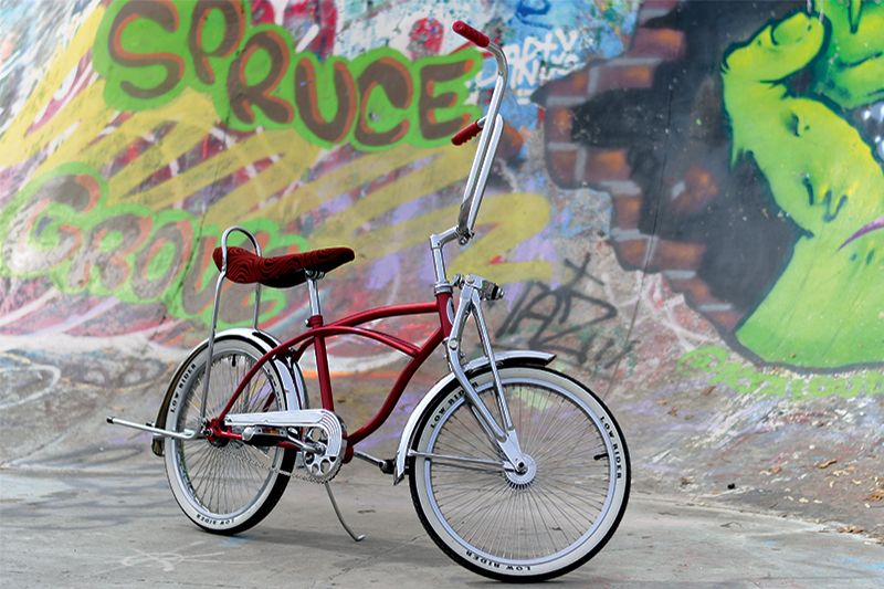 "20"" Red Lowrider Bicycle"