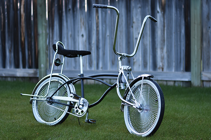 "20"" Black Lowrider Bicycle"